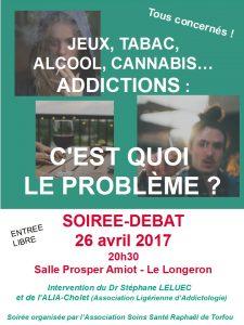 Soirée prévention : les Addictions